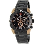 Swiss Precimax Men's Recon Pro SP13124 Black Stainless-Steel Swiss Chronograph Watch With Black Dial