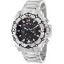 Swiss Precimax Men's Tactical Pro SP13173 Silver Stainless-Steel Swiss Chronograph Watch With Black Dial